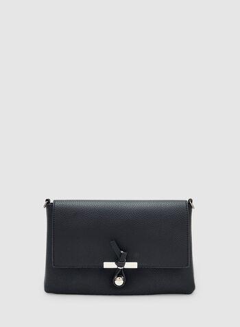 Rectangular Crossbody Bag, Blue, hi-res,  faux leather, spring 2019