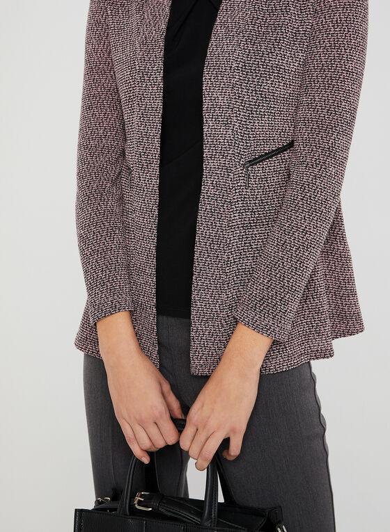 Haut ouvert en tricot chiné, Multi, hi-res