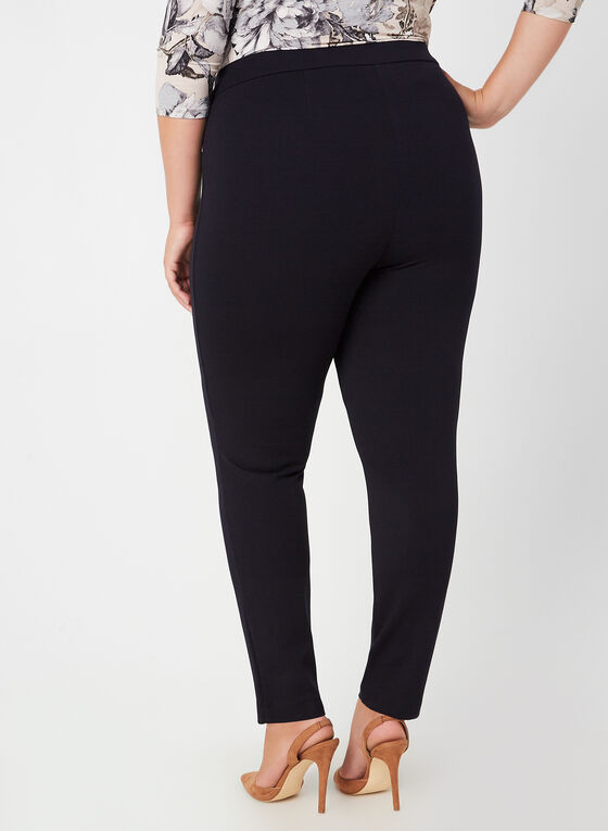City Fit Pull-On Pants, Blue