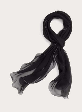 Sheer Muslin Scarf, , hi-res