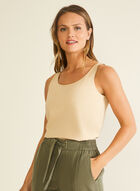 Cotton & Modal Tank, Off White