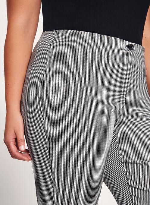 Pantalon coupe moderne à jambe droite, Noir, hi-res