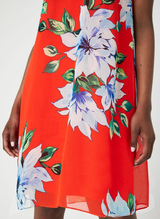 Jessica Howard - Robe trapèze fleurie , Orange