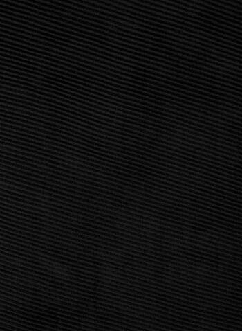 Foulard pashmina plissé, Noir,  foulard, pashmina, plissé, automne hiver 2019