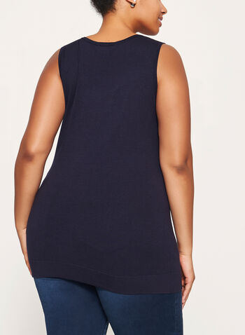 Sleeveless Scoop Neck Tank, , hi-res