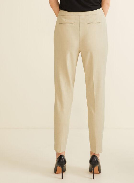 City Fit Slim Leg Pants, Off White