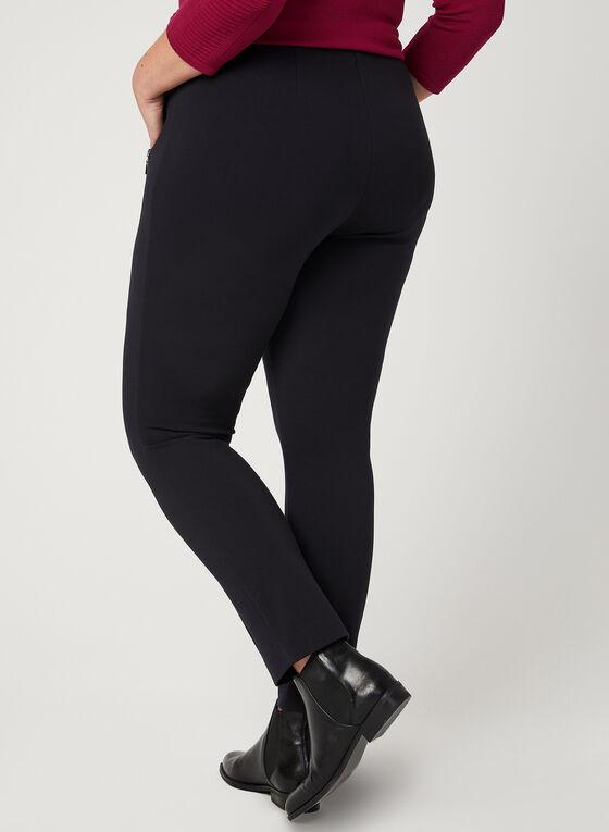 City Fit Slim Leg Pants, Blue, hi-res