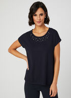 Drop Shoulder T-Shirt, Blue, hi-res