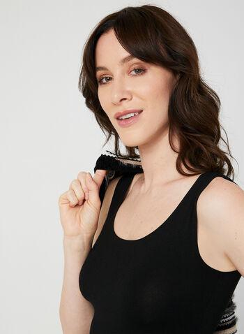 Alison Sheri - Tank Top, Black, hi-res,  sleeveless, soft, stretchy, fall 2019, winter 2019