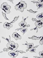 Floral Print Lightweight Scarf, Blue