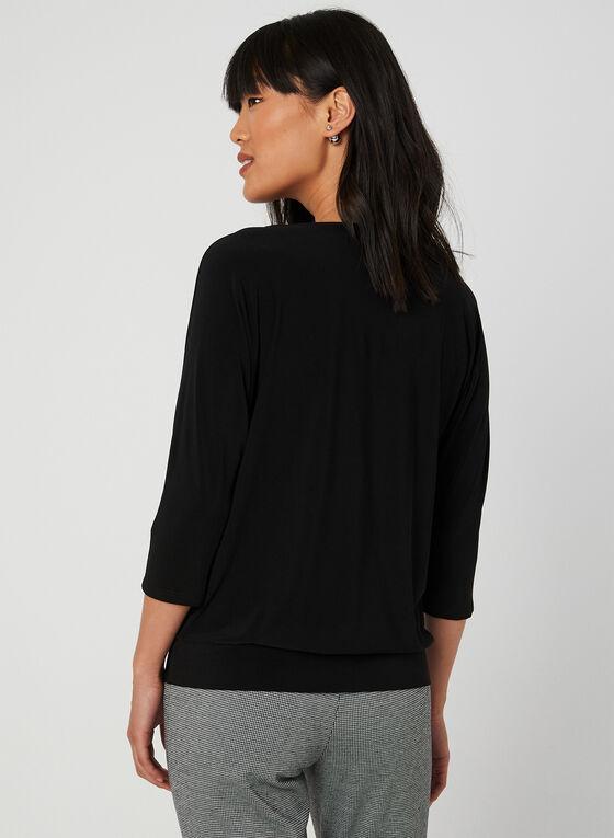 Dolman Sleeve Top, Black, hi-res
