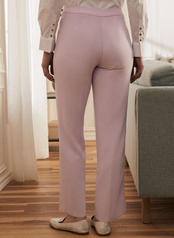 Modern Fit Wide-Leg Pant, Purple