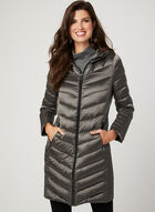 BCBGeneration - Hooded Packable Down Coat, Grey, hi-res