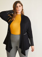 Stud Detail Cardigan, Black