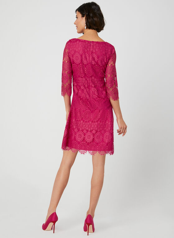 Jessica Howard - Robe en dentelle , Rose