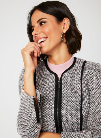 Blazer en tricot aspect bouclé, Multi, hi-res