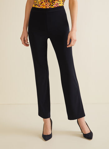 Modern Fit Straight Leg Pants, Blue,  Canada, Modern Fit, pants, straight leg, pull-on, elastic waist, spring 2019