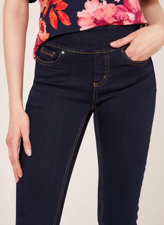 Frankie & Stella - Straight Leg Pull-On Jeans, Blue, hi-res