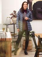 Bernardo - Recycled Ecoplume™ Packable Coat, Blue