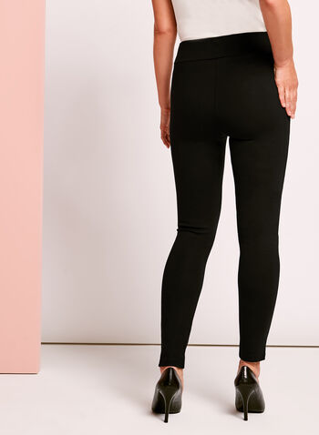 Ponte Slim Leg Leggings, , hi-res