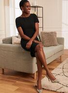 Louben - Short Sleeve Day Dress, Black