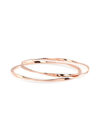 Metallic Bangle Set , , hi-res