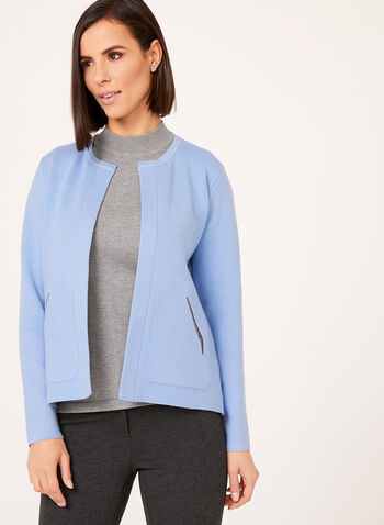 Elena Wang - Double Knit Cardigan , , hi-res