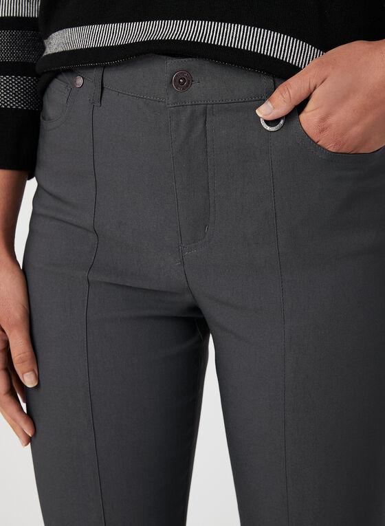 Simon Chang - Pantalon coupe signature à jambe droite, Gris, hi-res
