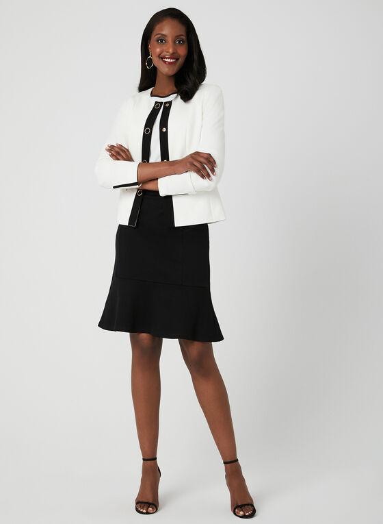 Pull-On Pencil Skirt, Black, hi-res