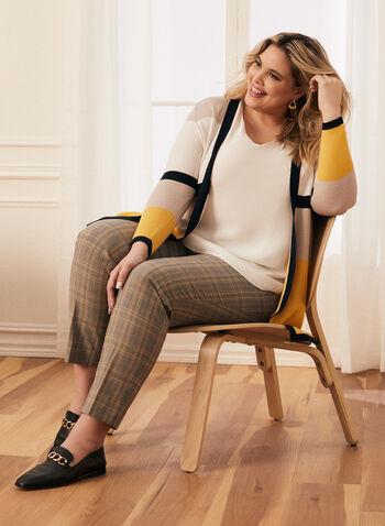 Colour Block Open Front Cardigan, Multi,  cardigan, open front, colour block, top, sweater, knit, spring 2020, summer 2020