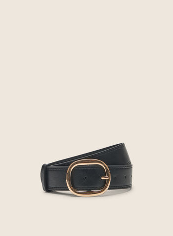 Wide Leather Belt, Black,  belt, leather, leather belt, wide belt, spring 2020, summer 2020