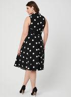 Polka Dot Dress, Black, hi-res