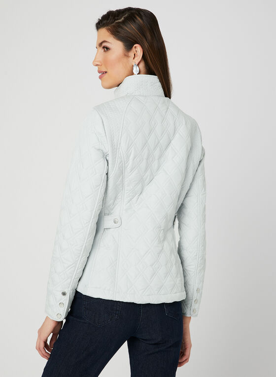 Weatherproof - Quilted Coat, Silver