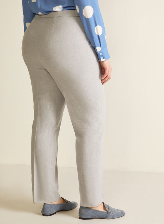 Signature Fit Straight Leg Pants, Grey