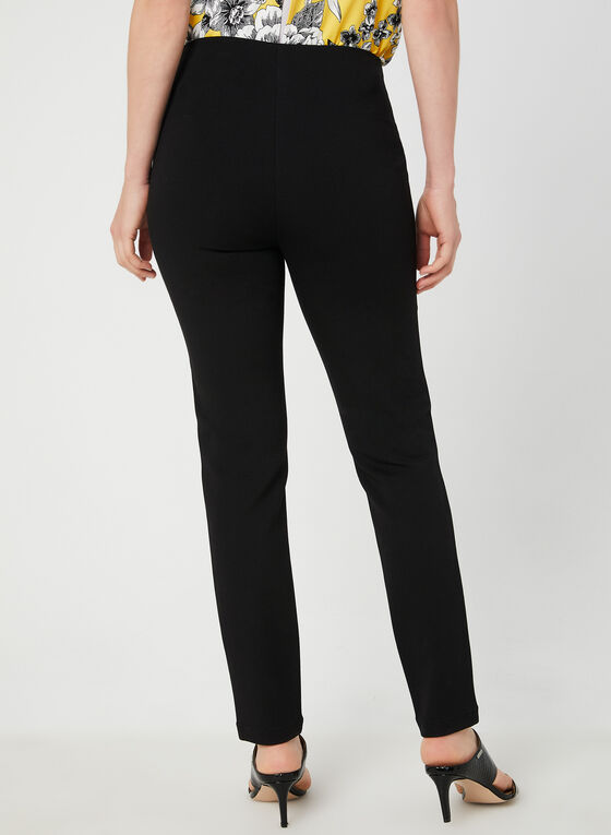 Pantalon pull-on coupe cité , Noir