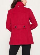 Marcona - Manteau aspect laine, Rouge, hi-res
