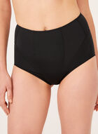 Secret Slimmers – Medium Control Shaping Briefs, Black, hi-res