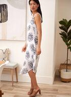 Charlie B - Printed Midi Dress, Blue