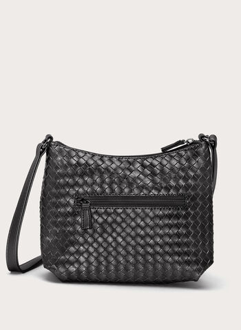 Basket Weave Crossbody Bag, , hi-res