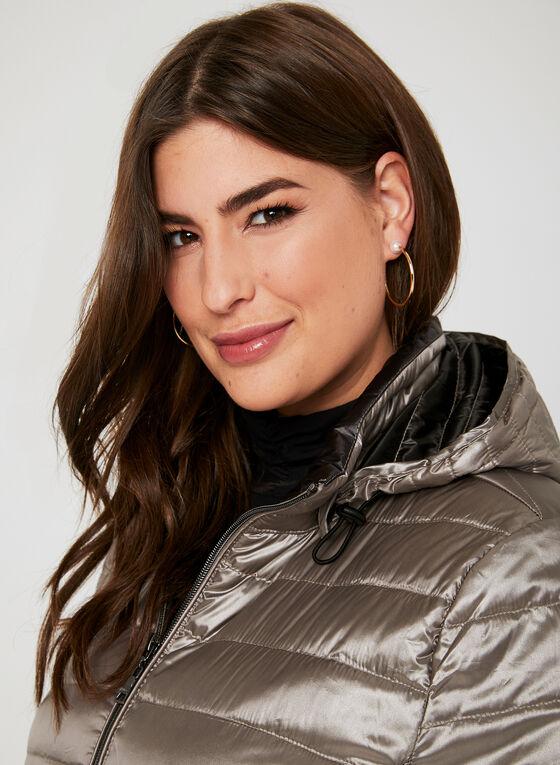 Nuage - Packable Down Coat , Off White, hi-res