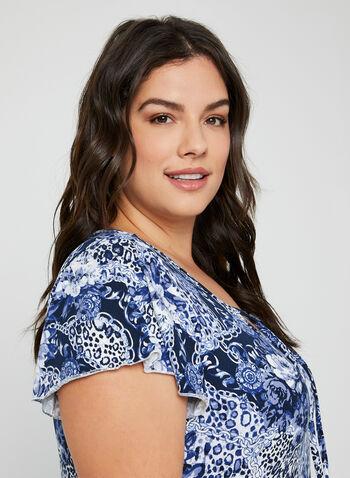 Hamilton - Two-Piece Pyjama Set, Blue, hi-res,  Canada, Hamilton, pyjama, sleepwear, fall 2019, winter 2019