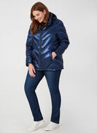 Manteau en duvet compressible , Bleu