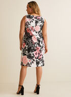 Floral Print Sleeveless Day Dress, Pink