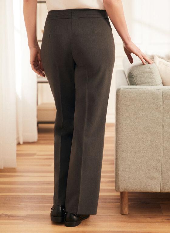 Pantalon à jambe droite , Gris