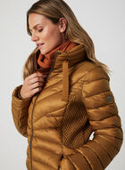 Bernardo - Weatherproof Coat EcoPlume™, Brown