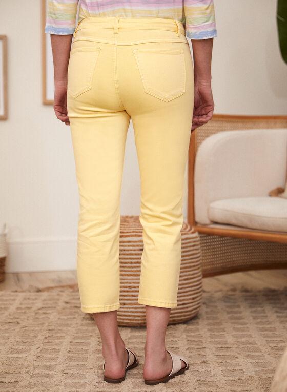 Straight Leg Capris, Orange