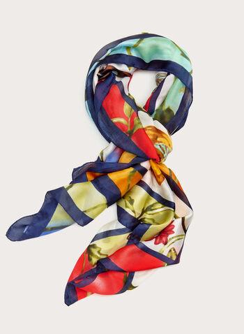 Foulard léger motif papillon, Multi, hi-res