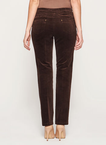Signature Fit Straight Leg Corduroy Pants, , hi-res