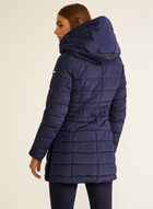 Laundry - Vegan Down Quilted Coat, Blue