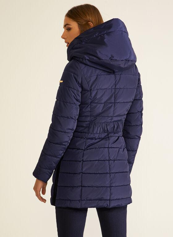 Laundry - Manteau mi-long en duvet végane, Bleu